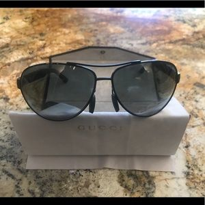 Authentic Men's Gucci Polarized Sunglasses
